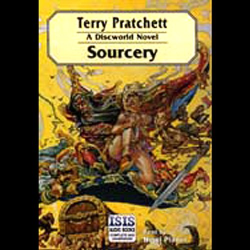 Sourcery audiobook cover art