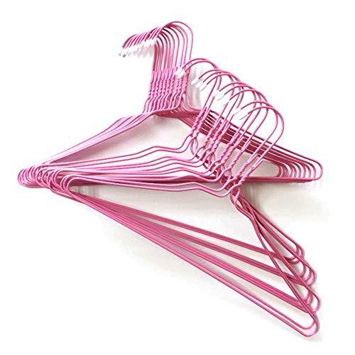 オリタニ 先端保護キャップ付き 小さい 針金ハンガー 33cm 25本セット キッズハンガー 子ども服 ベビー服 ズボン用 (ピンク)