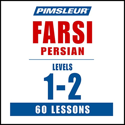 Pimsleur Farsi Persian Levels 1-2 audiobook cover art