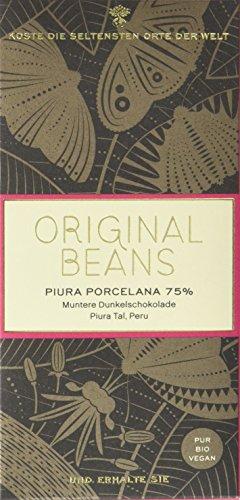 Original Beans Piura Porcelana 75 {b5f37d4a1faf8406096523eda9a6ddce286b74cd6063f22cb4c89aeeca173701} (1 x 70 g)