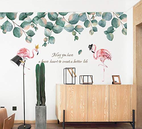 Kunst wandaufkleber schlafzimmer wohnzimmer büro studie wanddekoration wasserdicht abnehmbare aufkleber, hundefamilie groß