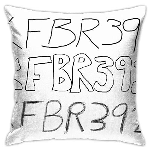 CONAWES Kfbr392 Kfbr392 Kfbr392 Bedroom Couch Sofa Throw Pillow Covers Home Decorative Square Pillow Case 18x18 Inch