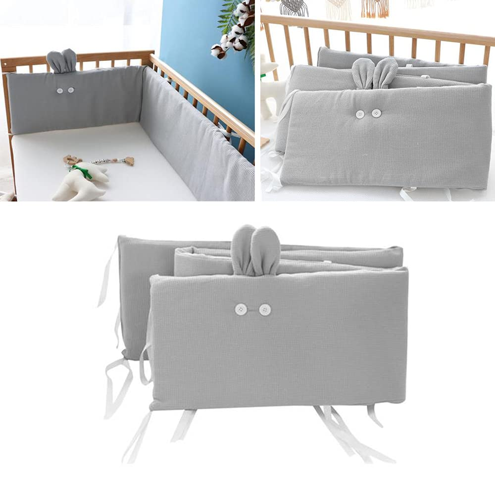 New products, world's highest quality popular! Baby Crib Liner San Francisco Mall Bumper Pad L Breathable Mesh Unique Cotton