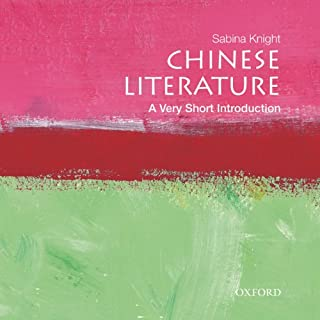 Chinese Literature: A Very Short Introduction  cover art