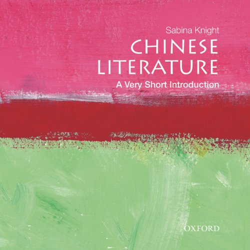 Chinese Literature: A Very Short Introduction  audiobook cover art