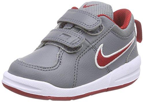 Nike Unisex-Kinder Pico 4 (TDV) Lauflernschuhe, Grau (Cool Grey/Gym Red-White/019), 22 EU