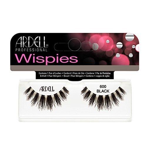(6 Pack) ARDELL Cluster Wispies 600 Black