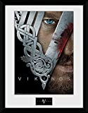 GB eye LTD, Vikings, Key Art, Fotografía enmarcada 30x40 cm