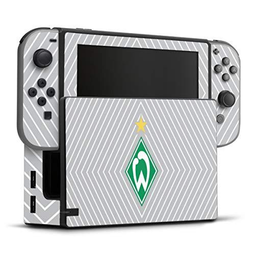 DeinDesign Skin kompatibel mit Nintendo Switch Folie Sticker SV Werder Bremen Sterne Trikot