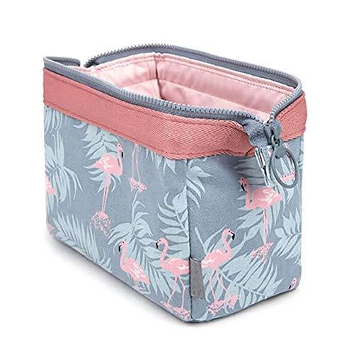 Bolsa de maquillaje, bolsa de cosméticos luxary/organizador de maquillaje para mujeres y niñas, bolsas de maquillaje de traval, tamaño: 19 13 10 cm