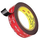 Double Sided Tape, HitLights 3M VHB Mounting Tape Heavy Duty, Waterproof Foam Tape, 16FT Length, 0.94 Inch...