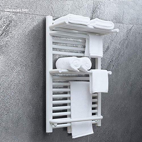 N/Z Inicio Equipos Calentador de Toallas eléctrico Montado en la Pared de Acero Inoxidable 304 Conveniente Toalla calefactora para el baño IP24