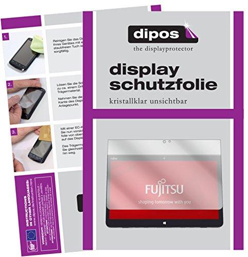 dipos I 2X Schutzfolie klar kompatibel mit Fujitsu Stylistic Q736 Folie Bildschirmschutzfolie