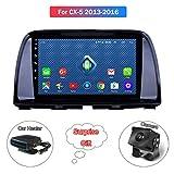 XMZWD 10.1 Zoll Android 8.0 Auto DVD Autoradio GPS Navigation, Für Mazda CX5 2013-2016 Unterstützung Multimedia Player/Stereo Video/Lenkradsteuerung(Enthalten Kamera/Auto Heizung)