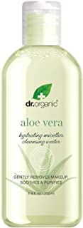 Dr.Organic Hydrating Micellar Cleansing Water with Organic Aloe Vera, 6.8 fl oz