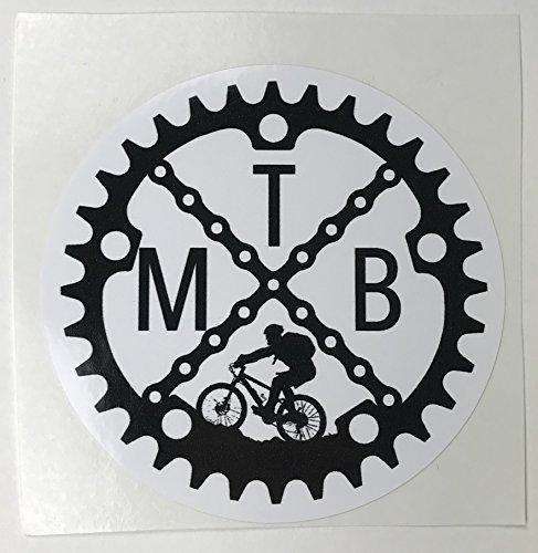 Wuz Worth it MTN Bike Sticker
