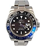 GMT Master Navy Seal, Swiss Movement, Black Dial, Black and Blue Bezel, Swiss Quartz Movement, Men's Watch Pro Diver, Men's GMT Watch, 316L Case, Sapphire Glass