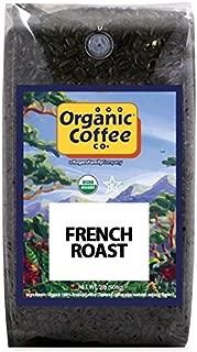 The Organic Coffee Co., French Roast- Whole Bean, 2-Pound (32 oz.), USDA Organic