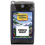 The Organic Coffee Co. French Roast Whole Bean Coffee 2LB (32 Ounce) Dark Roast Natural Water Processed USDA Organic