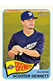 2014 Topps Heritage #285 Scooter Gennett NM-MT Brewers