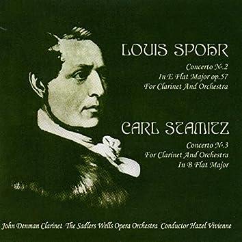 Louis Spohr: Concerto No. 2 in E-Flat Major Op. 57 - Carl Stamitz: Concerto No. 3 in B-Flat Major