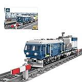 FZC-YM 375Pcs Moc City Train Electric Dongfeng 11Z Motor de combustión Interna Tren Modelo de Bloque de construcción de Juguete para niños Adultos, City Train Building Block Set