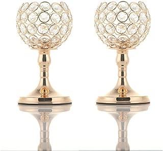 Best crystal beaded hurricane vase Reviews