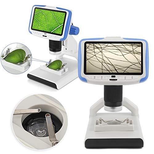 Juguete de microscopio,Caiqinlen Juguete Educativo del microscopio de la Ciencia 854x480, Juguete electrónico de la Lupa del endoscopio, para el niño de los niños
