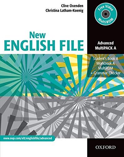 New english file. Advanced. Vol. A. Student's book-Workbook-Key. Per le Scuole superiori. Con Multi-ROM: Six-level general English course for adults