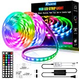 Led Strip Lights 32.8ft,ehomful 5050 Type Color Changing 44 Keys Remote Control Led Lights for Bedroom,Room,Kitchen and Party Decorations