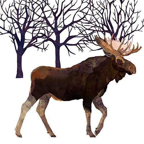 Blanc Brun Noir Orignal arbres Paquet de 20 Papier Serviettes 13 \