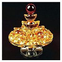 像の装飾品彫刻シトリンYuanbaoプレート工芸品の装飾品ギフトラッキーコーノコピアオープニングギフトポーチ仏教の提供Feng Shui 園芸装飾
