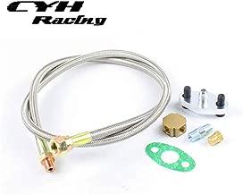 Turbo Charger Oil Drain Return & Feed Line Kits For Toyota Supra 1JZ 2JZ 1JZGTE 2JZGTE