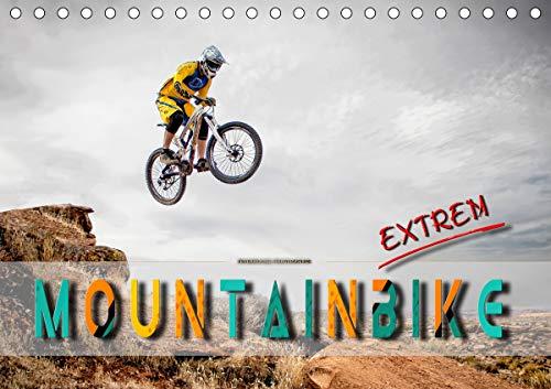 Mountainbike extrem (Tischkalender 2021 DIN A5 quer)