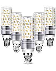 E14 Maíz Bombilla LED Blanco Frio, Wowatt E14 LED Bombilla 6000K 16W Equivalente a Bombilla Halógena de 120W 1600lm LED E14 Luz 360° Ángulo de Haz 230V No Regulables φ31 x 103mm Paquete de 5