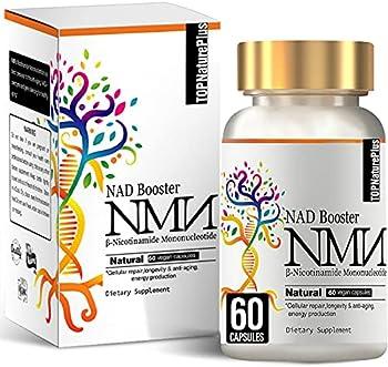 60-Count NMN Nicotinamide Mononucleotide Capsules