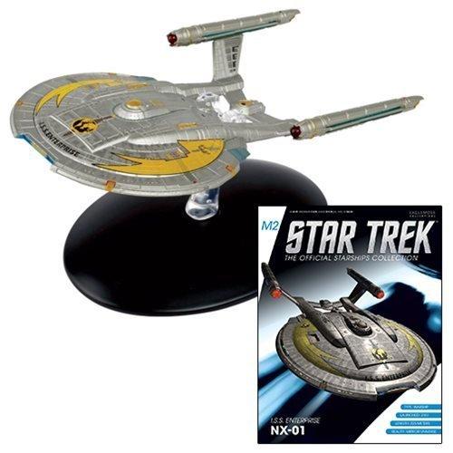 Star Trek Starships Special Mirror Universe Enterprise NX-01 Die-Cast Metal Vehicle with Collector Magazine #7 by Star Trek