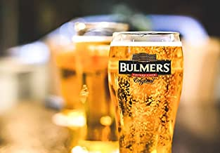 Home Comforts Glass Thristy Pint Cider Bulmers Bubbly Stein Laminated Poster Print 24 x 36