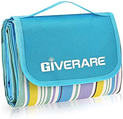 GIVERARE Picnic Beach Blanket XL Sandfree Waterproof Outdoor Camping Blanket Quick Drying Oxford product image