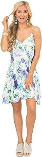 YIBEIANYU Summer New Wave Sleeveless Dress Sling Print Dress 22063