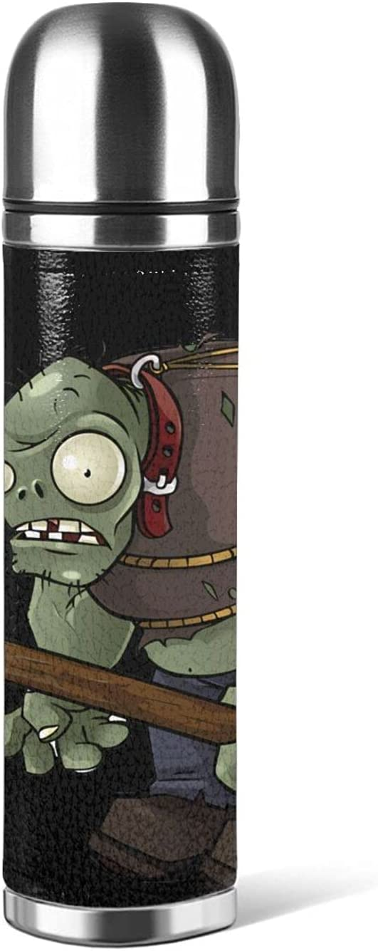 Plants vs. Zombies Thermos cup Genuine Free Shipping Cheap sale stainless steel 17 out unisex oz
