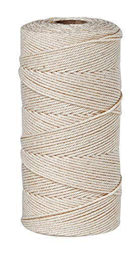 Kettgarn für Webrahmen 150m 100% Baumwolle 1,2mm reißfest