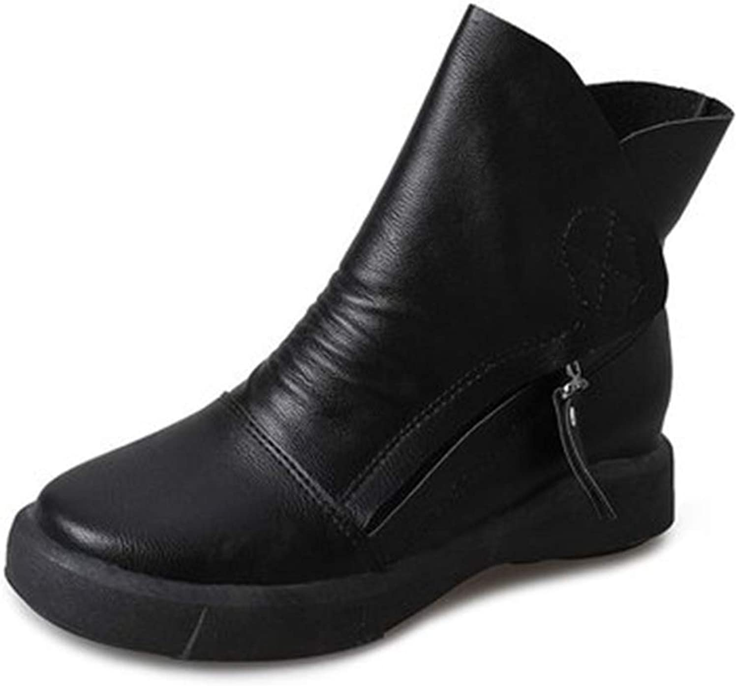 Quality.A Women's Martin Boots Elegant Casual Boots Student Boots Snow Boots