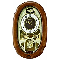 Seiko QXM479BRH Melody in Motion Clock