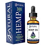 300mg C02 Extraction Hemp Oil Anti-Inflammatory Pain Relief No Fillers or Additives Therapeutic Grade (300mg)