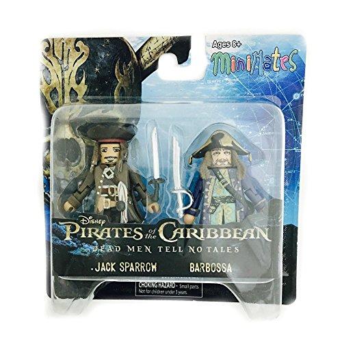 Minimates Pirates of The Caribbean Jack Sparrow and Barbossa