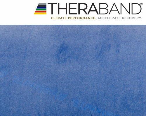 Original Thera-Band 2,5m blau + Original 24-seitiges Übungsbuch gratis