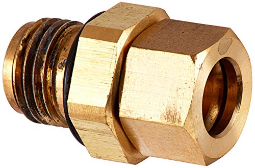 AFWFilters FP-13244 Brass Brine Fitting BLFC 5600 Water Softener Valve (Fleck Part 13244)