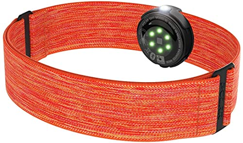 Softeam OH1 Sensor de frecuencia cardíaca Unisex Adulto, Naranja, M-XXL