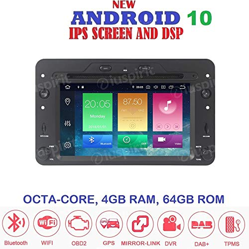 Android 10 GPS DVD USB SD WI-FI Bluetooth Autoradio Navi Alfa Romeo 159 / Alfa Romeo Spider / Alfa Romeo Brera